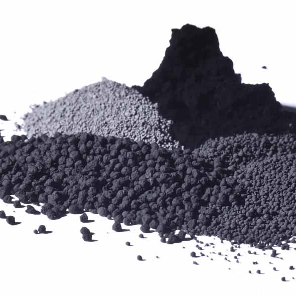 Black pigments for coating system